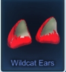 (PC) Purple Wildcat Ears-- Instant Delivery