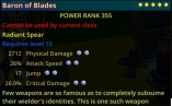 (PC) Cheap Radiant Spear PD/AS/Jump/CD 355PR max stars max pearls // Fast delivery