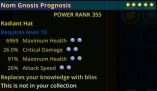 (PC) Cheap Radiant Hat MH/CD/MH/AS 355PR max stars max pearls // Fast delivery