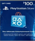 PlayStation Network Gift Card 100 USD - Instant Delivery