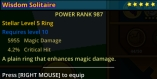 (PC) NEW Stellar ring level 5 MD/CH 987PR // Fast delivery!