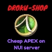 [NUI] Cheap BULK  APEX on NA-NUI Fresh Server F2F East or West 100% Handmade, Safe and Instant Delivery