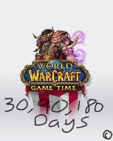 World of Warcraft Game Time Code 90 Days US(Americas and Southeast Asia)