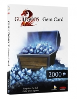 Guild Wars 2 [Worldwide] 5x 2000 Gems Card (= 10000 Gems)