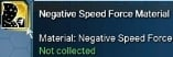 Negative Speed Force Material - US server only