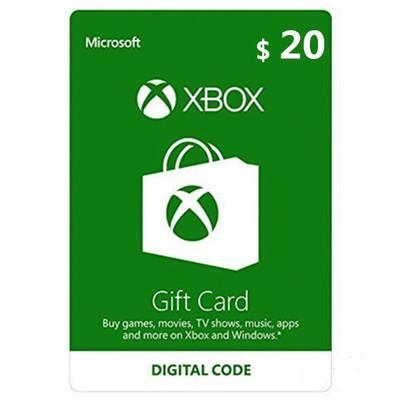 US Xbox Gift Card $20 - Instant Delivery20min