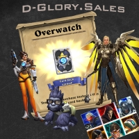 Overwatch Origins: Digital Goodies (Baby Winston Pet, Diablo 3 Wings & Other)