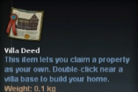 VIlla deed (Delivery to any safe city)