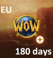 [EU] World of Warcraft - 180 days GAMETIME