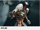 (PC) Atlas warframe + slot + reactor // Fast delivery!