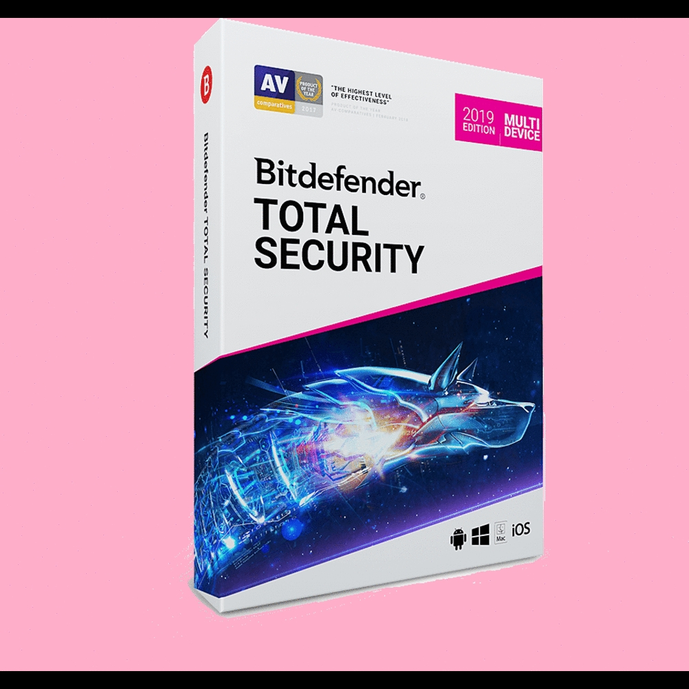 Bitdefender Total Security 2019 3 Months 5 PC/Mac - Key