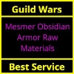 Mesmer Obsidian Armor Raw Materials