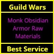 Monk Obsidian Armor Raw Materials