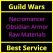 Necromancer Obsidian Armor Raw Materials