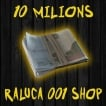 10 Milions Roubles just 15$ - Under 15 minutes delivery ! Raluca001 Shop