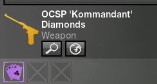 OCSP Kommandant Diamonds