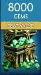 SMITE - 8000 GEMS - INSTANT DELIVERY - CHEAPEST ONLINE