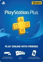 12 Month PlayStation Plus Card