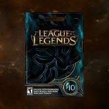League of legends 10$ Giftcard [NA]