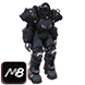 [PC] Ultracite Power Armor FULL Modded (50lvl / 6 parts, list of mods in offer description) - Fast Delivery
