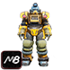 [PC] Excavator Power Armor FULL Modded (45lvl / 6 parts, list of mods in offer description) - Fast Delivery