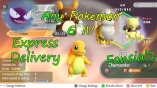 Pokemon Let's Go Pack - Customizable Any Shiny Pokemon Max stats AV/ 6IV( x5 Pokemon)