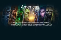 World of Warcraft Standard Complete Edition CD Key US (Americas) 110 BOOST and 30 days