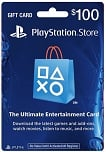 PlayStation Store Network GiftCard USD 100 UNITED STATES