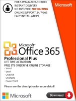 MS Office 365 Pro Lifetime Subscription Professional 2016