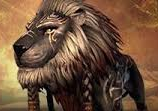 Tribal Soot Lion