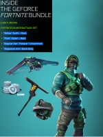 geforce fortnite bundle skins pickaxe 2000 v bucks - fortnite save the world cdkeys