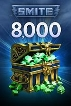 SMITE 8,000 Gems - TOP UP - Instant Delivery