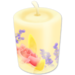 100 Floral Candle