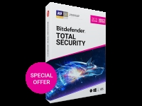 Bitdefender Total Security 2019-180 days 5 devices key