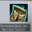 Permanent Black Lion Merchant Contract-Usually 2-10 hours complete!