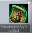 Permanent Hair Stylist Contract-Usually 2-10 hours complete!