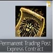 Permanent Trading Post Express Contract-Usually 2-10 hours complete!