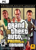 Grand Theft Auto V: Premium Online Edition Rockstar Social Club Key GLOBAL