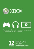 Xbox Live Gold 12 months - North America