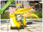 Mount: Citrine Carbuncle (Account-wide)