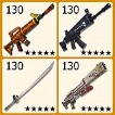 (PC/PS4/XBOX)Fortnite PL130 WEAPON ONLY $1.2 PER UNIT - FAST DELIVERY( WEAPONS LIST IN DESCRIPTION)