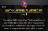 [PC-EU] Mythic Aetherial Ambrosia + 150% EXP | Fast Delivery, Cheapest Prices |