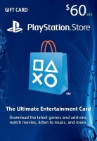 Cheap PlayStation Network Gift Card 60 USD PSN UNITED STATES