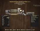 Bloodied Gamma Wave Automatic Laser Rifle- Level 45