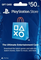 Play Station Network Gift Card 50 USD