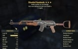 Bloodied + Explosive +1 Agility 3* Handmade AK-47 (45lvl) - Delivery 3-5min!