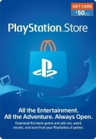 Cheap PlayStation Network Gift Card 50 USD PSN UNITED STATES