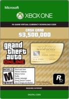 Grand Theft Auto Online: The Whale Shark Cash Card 3 500 000 XBOX LIVE Key GLOBAL