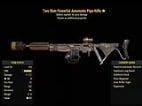 Two Shot Powerful Automatic Pipe Rifle- Level 50