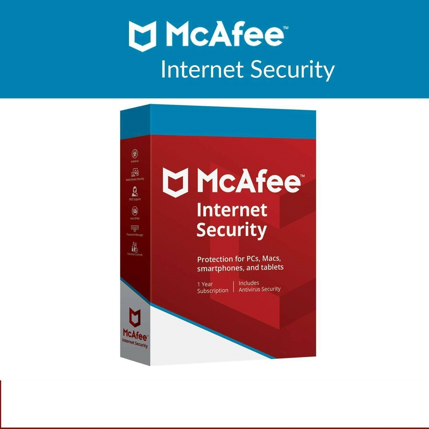 Mcafee Internet Security 1 Pc 5 Year Global Licence Key
